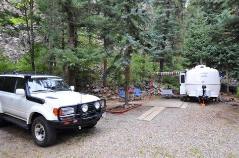 blue rv roomy site photo de blue spruce rv park cabins vallecito lake tripadvisor