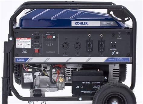 kohler pro7 5e generator consumer reports