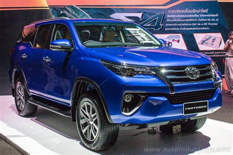 Fortuner Ad1501b Black Blue 2016 toyota fortuner makes official global debut auto industry news
