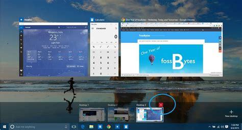 windows 10 virtual desktop tutorial how to create and use virtual desktops in windows 10