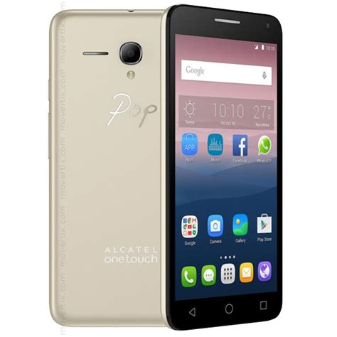 one touch alcatel one touch pop 3 gold with 5 5 5025d