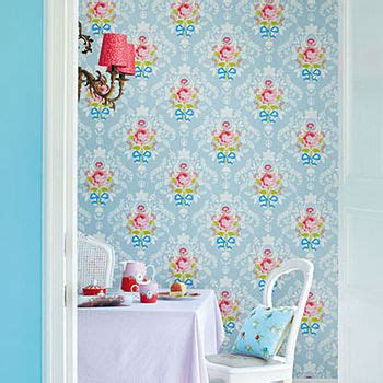 all over floral wallpaper by fifty one percent notonthehighstreet com