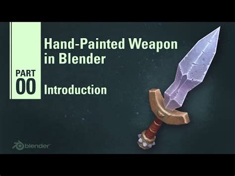 unity tutorial weapon blender hand painted weapon tutorial unity forum