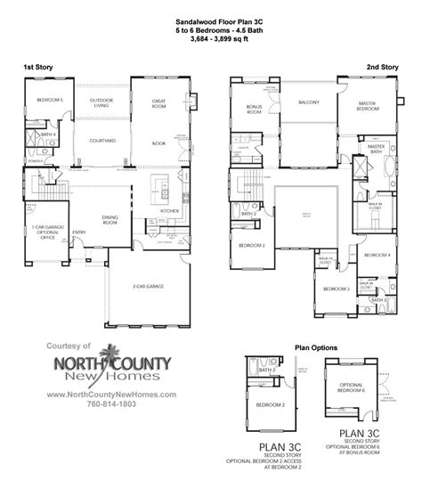 floor plan la sandalwood at la costa oaks floor plan 3 new homes in la