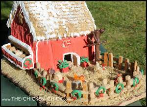 gingerbread barn kit the chicken 174 gingerbread chicken coop