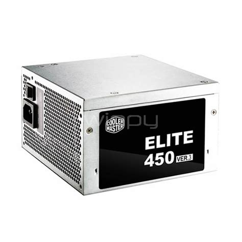 Cooler Master Masterwatt Lite 450 fuente de poder cooler master masterwatt lite 500 watts