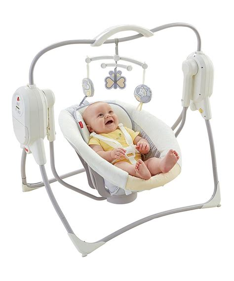 space saving swing fisher price power plus space saver cradle n swing
