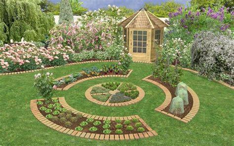 Potager Garden Layout Potager Garden Design Potager Gardens