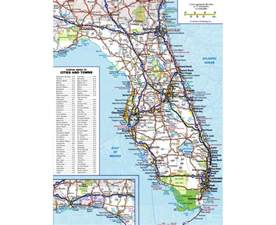 maps of florida state collection of detailed maps of