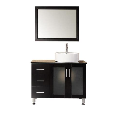 design elements vanity home depot design element malibu 39 in w x 22 in d vanity in