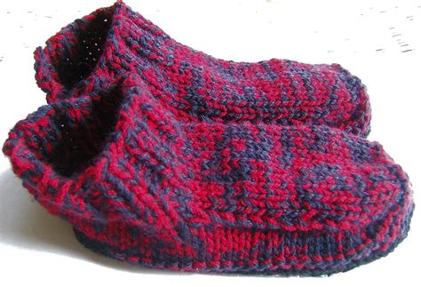 knitted slipper patterns aussie knitting threads how to make soles for knitted