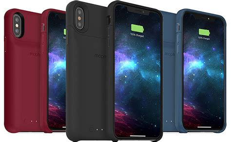 mophie announces iphone xs xs max xr juice pack access battery cases with support for wireless