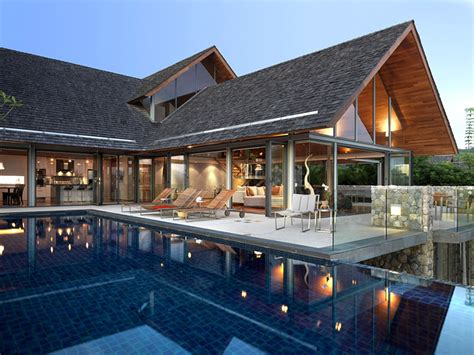 modern home design thailand a private villa is a mix of modern and traditional thai