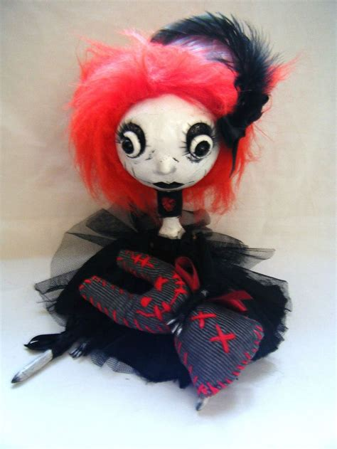 Creepy Handmade Dolls - 1000 images about cloth doll on