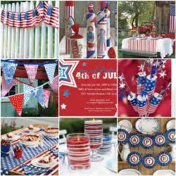 fourth of july decorations peach pizzazz fourth of july decor inspiration