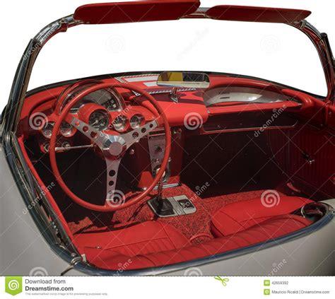 Vintage Cer Interior by Vintage Car Interior Stock Photo Image 42659392