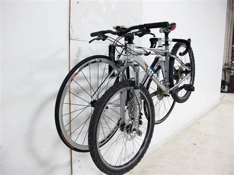 2 bike storage rack gear up off the wall deluxe horizontal wall mount bike storage 2 bikes gear up bike storage