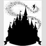 Disney Castle Silhouette With Tinkerbell | 685 x 825 jpeg 47kB