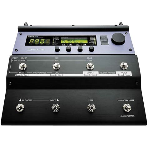Tc Helicon Voicelive 2 Floor Based Vocal Processor by Tc Helicon Voicelive Vocal Floor Processor Musician S Friend