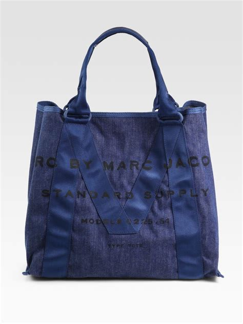 Marc By Marc Canvas Forbidden Shopper by Marc By Marc M Standard Supply Canvas Tote Bag In