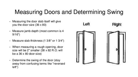 how to tell swing of door windows and doors presentation