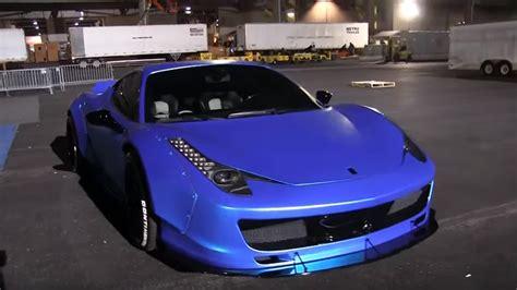 Justin Bieber Ferrari by As 237 Es El Ferrari 458 Italia Transformado De Justin Bieber