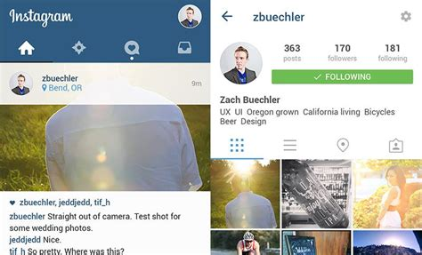 instagram layout landscape 30 free material design ui kits templates icon sets