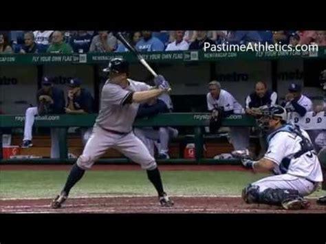 teaching baseball swing mechanics brett gardner slow motion home run baseball swing hitting