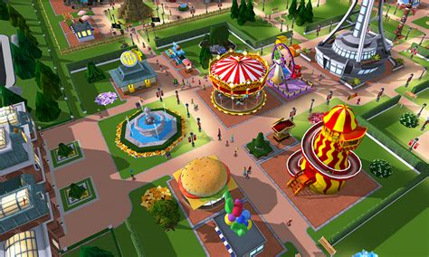 theme park maker game create beautiful 3d theme parks with rollercoaster tycoon
