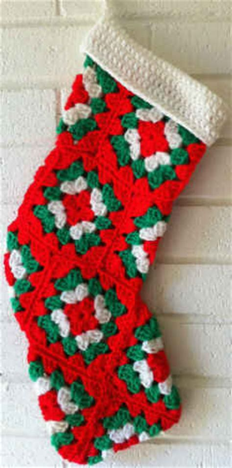 simple crochet pattern for christmas stocking christmas crochet stocking patterns 171 free patterns
