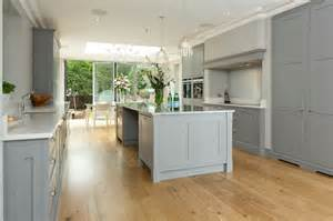 Grey And White Kitchen by Classic Grey And White Kitchen Bespoke Handmade Wood
