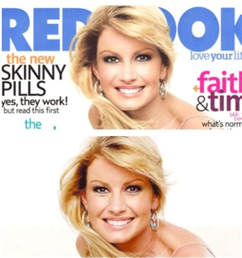 The Of Photoshop Faith Hill by Picconn The Reality Of Photoshop Before And