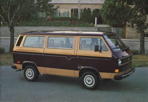 brown volkswagen cars of a lifetime 1982 vw vanagon diesel slower than a