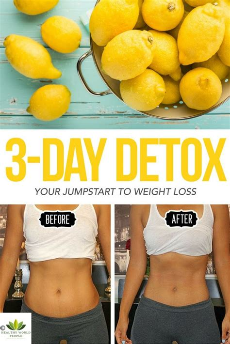 Detoxing To Optimize Weight Loss by Try This 3 Day Detox And Cleanse Your From Sugar