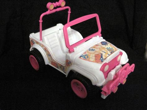 barbie cars from the 90s barbie jeep 90s pinterest toys jeeps and barbie toys