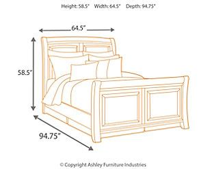 Ridgley King Bedroom Set by Ridgley King Sleigh Bed Furniture Homestore
