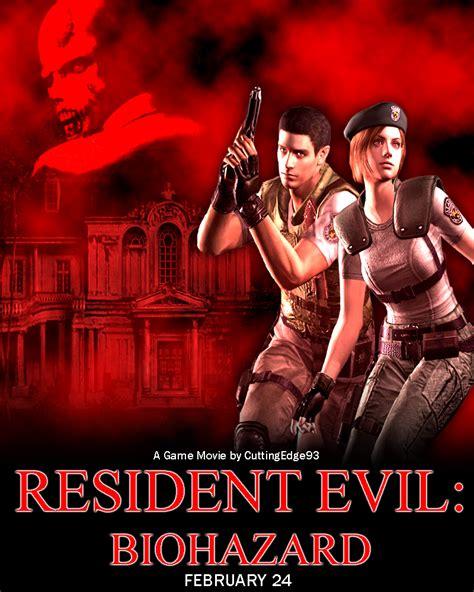 film animasi resident evil resident evil biohazard game movie poster by
