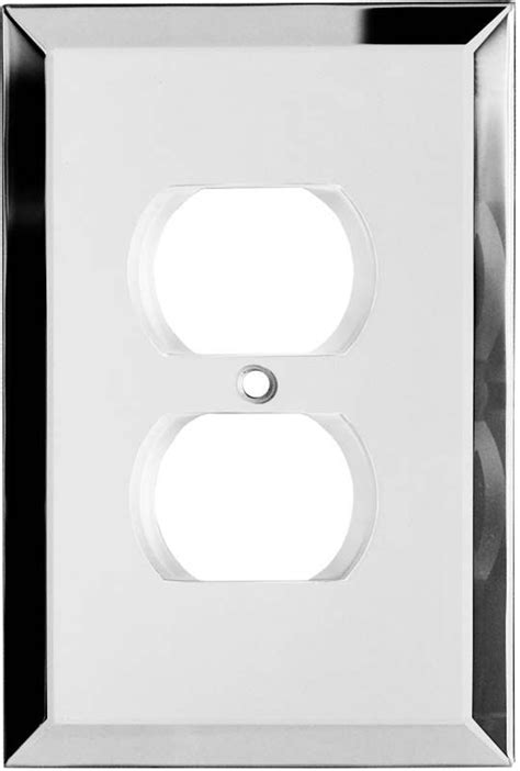 mirrored glass light switch covers glass mirror light switch plates outlet covers