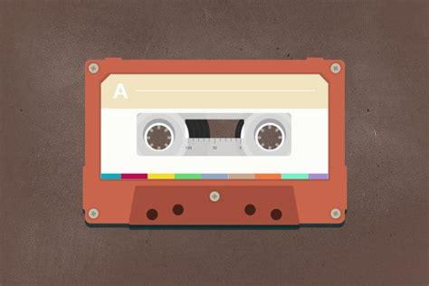 vintage cassette vintage cassette icons creative market