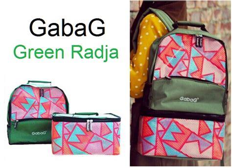 Gabag Cooler Bag Tas Pendingin Asi Ibu Menyusui Mutiara gabag green radja coolerbag asi backpack 2in1 asibayi