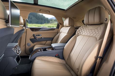 Bentley Suv Interior by Bentley Bentayga