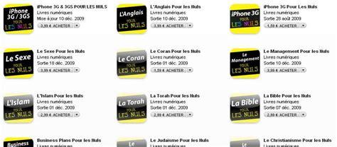la collection quot pour les nuls quot s enrichit de nouveaux titres sur l iphone ipod touch