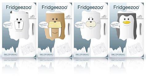 Kotak Tisu Bentuk Beruang Kutub fridgeezoo hewan kutub yang lucu di dalam kulkas j cul