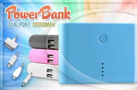 Advance Power Bank 3000 Mah Pink 74 portable 30000mah power bank promo