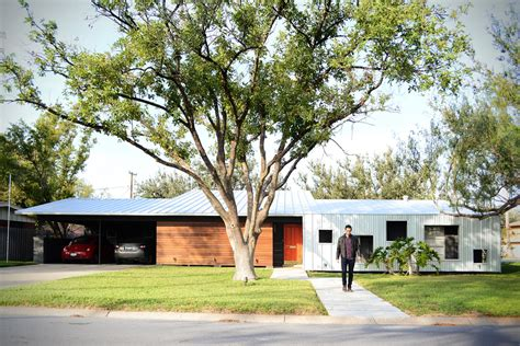 1950s house a modern renovation of a 1950 s house in texas design milk