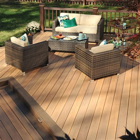 St Tiger Mocha decking legacy collection tigerwood with mocha accen