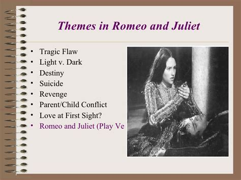 themes of romeo and juliet bbc lights camera action