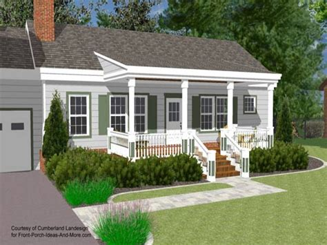 kitchen at front of house plans home christmas decoration small house with ranch style porch front porch designs
