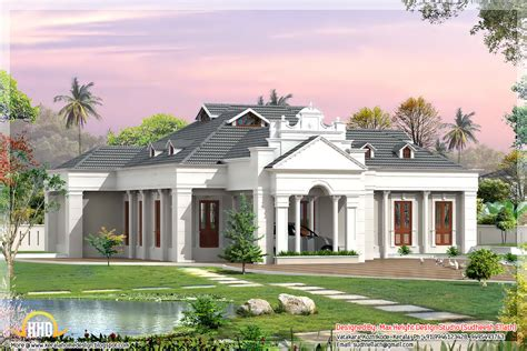 different designs of houses 2 different 3d home elevations kerala home design and floor plans