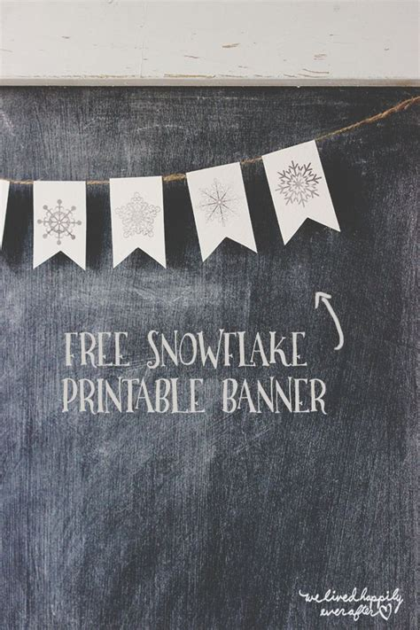 printable snowflake banner best 25 snowflake printables ideas on pinterest burton